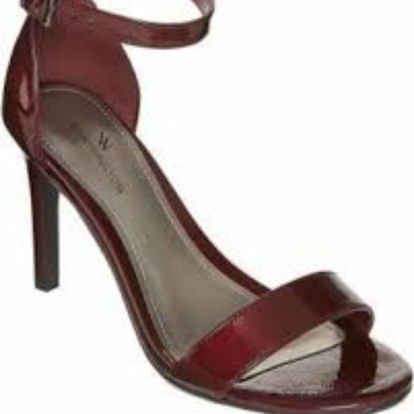 59584ae32 Worthington Shoes | Nwt Size 8 12 M Wine Colored Heels | Poshmark